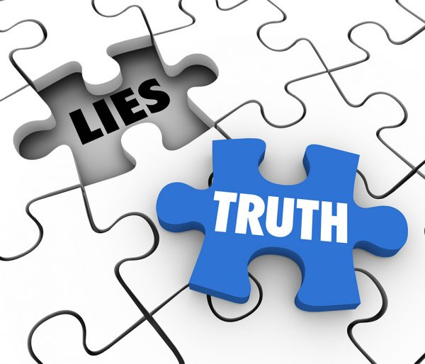 Truth Vs Lies Puzzle Piece