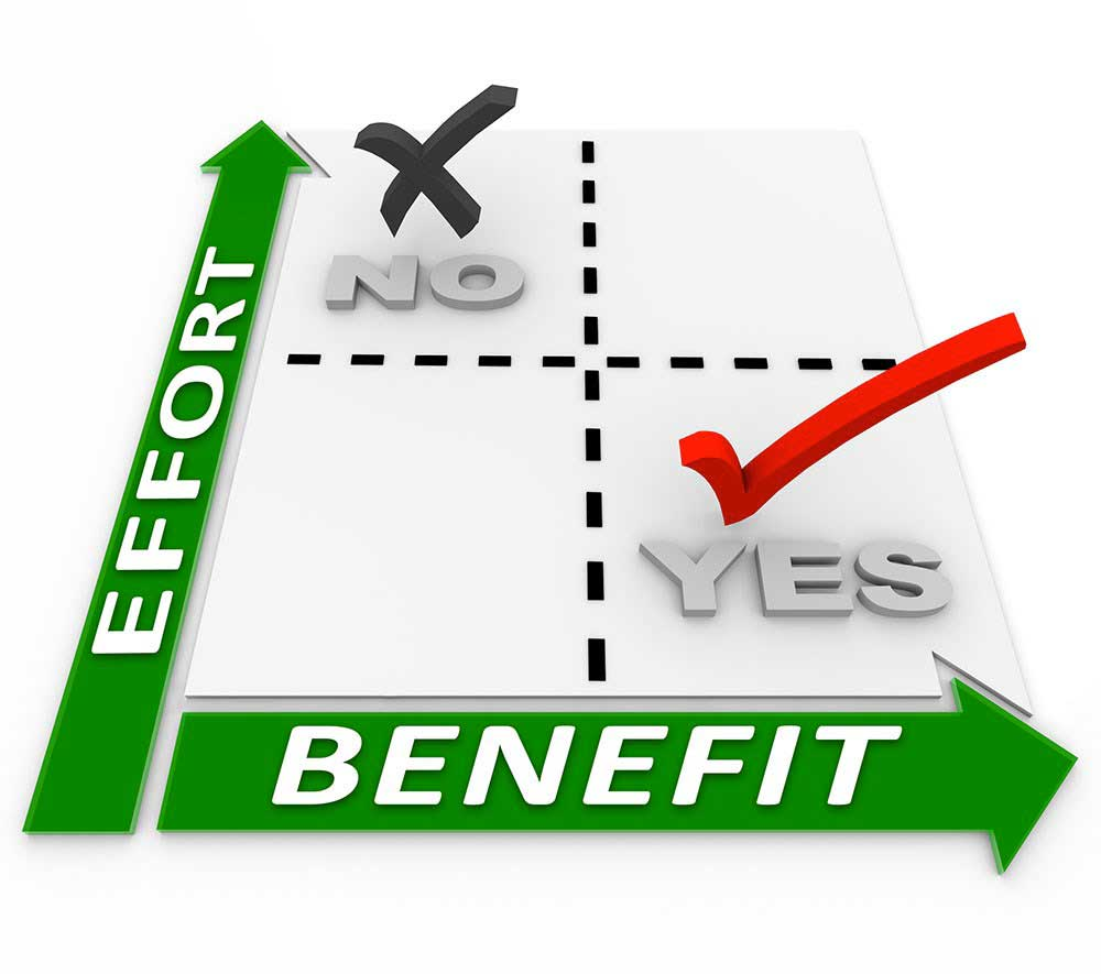 benefits matrix of cash for house buyers showing why it is better to a cash for house buyer