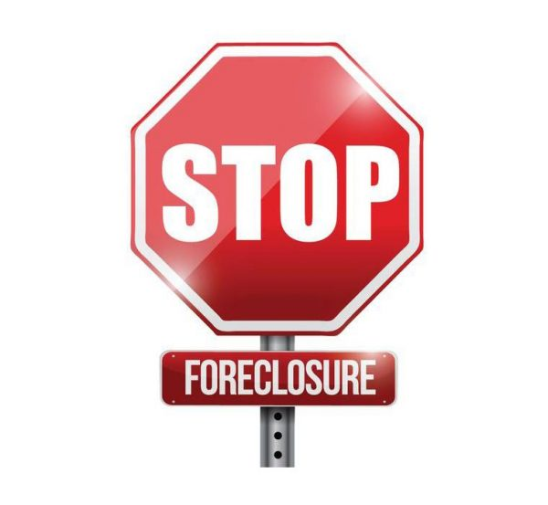 stop foreclosure sign