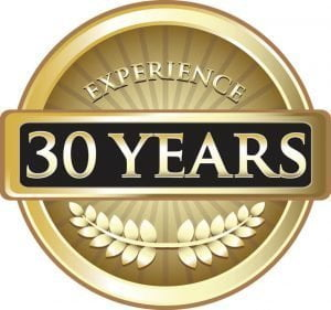 30 years of experience