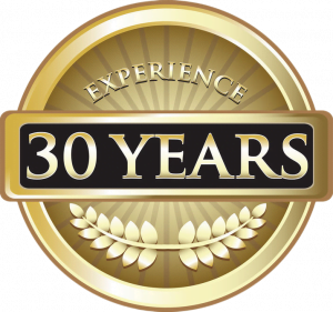 badge for 30 years of buying homes for cash experience